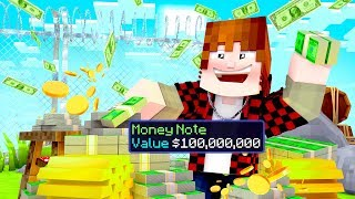 $100M MONEY MACHINE (Cosmic Skyblock SMP #17)