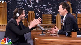 Video The Whisper Challenge with Keanu Reeves MP3, 3GP, MP4, WEBM, AVI, FLV Oktober 2018