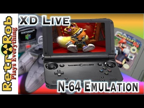 GPD XD Live!  N64 Emulation On Android