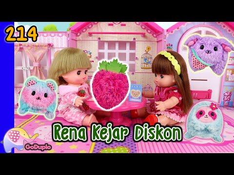 Mainan Boneka Eps 214 Rena Kejar Diskon - GoDuplo TV