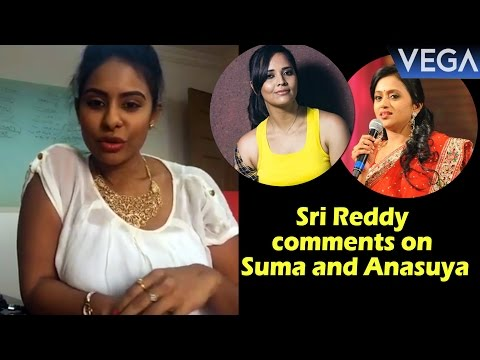 Video Actress Sri Reddy Sensational Comments on Anchor Suma and Anasuya download in MP3, 3GP, MP4, WEBM, AVI, FLV January 2017
