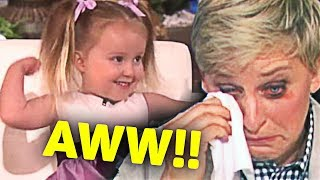 Video This Kid Made Ellen Cry... After She... MP3, 3GP, MP4, WEBM, AVI, FLV Juli 2019