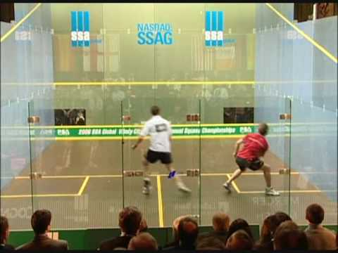 Squash – David Palmer vs Jonathon Power Windy City Open 2006