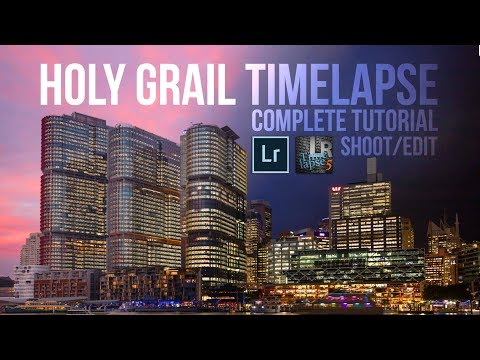 Complete Holy Grail timelapse tutorial with LRTimelapse