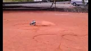 RC 1/4 Motorcycle ARX 540 Drifting~(HTC XL)