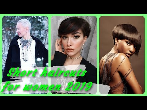 20 new  Ideas for popular short haircuts for women 2019