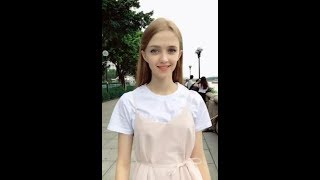 Video 「Tik Tok」Beautiful girl with good temperament MP3, 3GP, MP4, WEBM, AVI, FLV Juni 2018