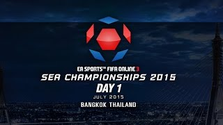 SEA Championships 2015 Thailand DAY 1, fifa online 3, fo3, video fifa online 3