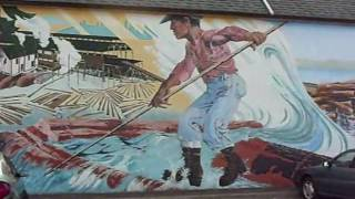 Chemainus (BC) Canada  city photos : Chemainus Murals Painting British Columbia Vancouver Island Canada.