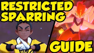 RESTRICTED SPARRING GUIDE For Pokemon Sword and Shield! Pokemon Isle of Armor Gameplay Guide! by Verlisify