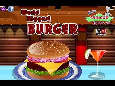 World Biggest Burger - Cooking Games Gameplay By Magicolo