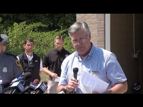 Watch news conference on shooting of Alison Parker and Adam Ward
