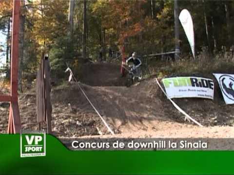 Concurs de downhill la Sinaia
