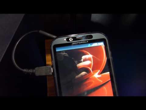 Motorola DROID Bionic at CES 2011