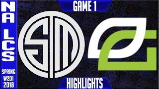 Video TSM vs OPT Highlights | NALCS Spring 2018 S8 W2D1 | Team Solomid vs OpTic Gaming Highlights MP3, 3GP, MP4, WEBM, AVI, FLV Juni 2018