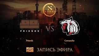 Friends vs Comanche, DAC 2017 CIS Quals, game 1 [Godhunt, Faker]