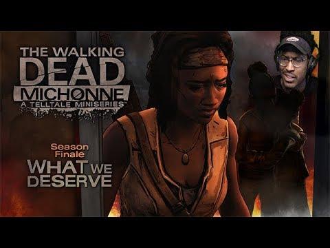 ... OKAY? I GUESS?   The Walking Dead: Michonne   #3 [FINALE]