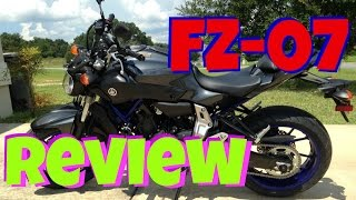 2. FZ-07 REVIEW, Yamaha MT-07 FZ07 New Review, FZ07 Specs & Walk Around Review
