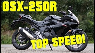 4. Suzuki GSX250R TOP SPEED