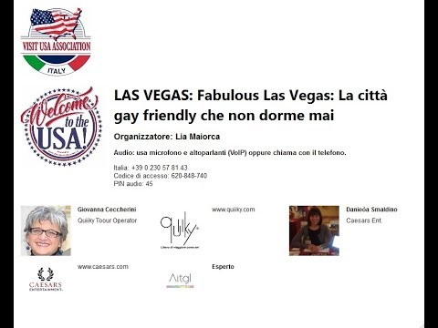 Video LAS VEGAS  Fabulous Las Vegas  La città gay friendly che non dorme mai (7-11-2017)