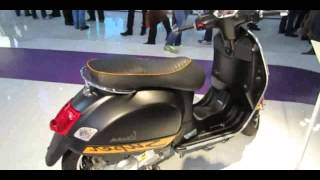 6. 2014 Vespa GTS SuperSport 300ie Scooter Walkaround