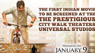 Pawan Kalyan Agnathavasi Creates a Record | First Ever Indian Movie in Universal Studios !