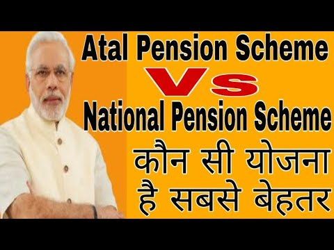 Atal Pension Yojana Vs National Pension Scheme - Which Is Better Apy Or Nps For Monthly Pension