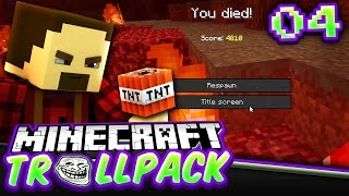 WHY?? WHY?? WHY??????? | Minecraft TROLL PACK SMP #4