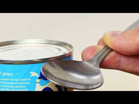 Got Survival Skills?? Here's How To Open A Can In An Emergency