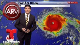 Irma se convirtió en un monstruoso Huracán | Más Fuerte que David y George | Al Rojo Vivo