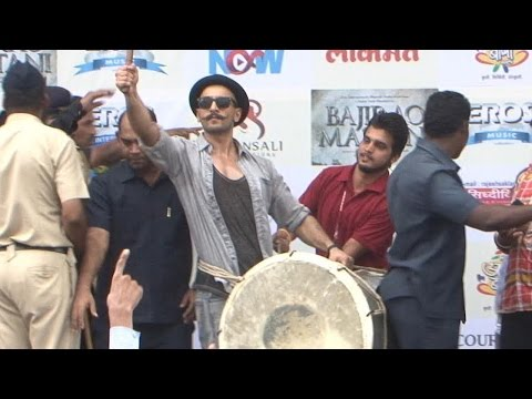 I love Visarjan party : Ranveer Singh