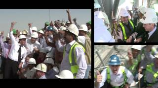 The Opening of the Burj Khalifa