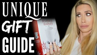 UNIQUE HOLIDAY GIFT GUIDE  2016 by Channon Rose