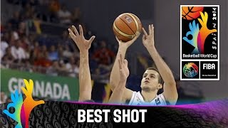Check out Nemanja Bjelica´s deep three pointer against Spain with nothing but net. The 2014 FIBA Basketball World Cup will take place in Spain from 30 August...