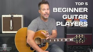 Video Top 5 Things Every Beginner Guitar Player Should Know MP3, 3GP, MP4, WEBM, AVI, FLV Juli 2018