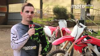 9. Ride Review: 2012 Honda CRF250R and CRF450R