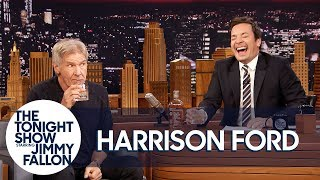 Video Harrison Ford and Jimmy Sip Glasses of Scotch and Tell Each Other Jokes MP3, 3GP, MP4, WEBM, AVI, FLV Agustus 2018