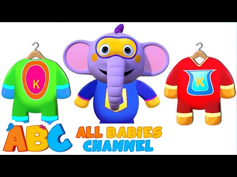 SUPERHERO MORNING ROUTINE | 3D Nursery Rhymes For Kids By All Babies Channel