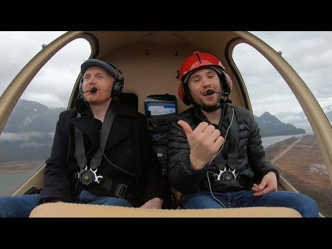 I didn't know Bill Burr was a helicopter pilot!