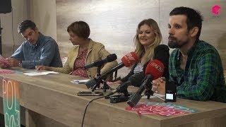 Press konferencija uoči književnog festivala ''Poligon''