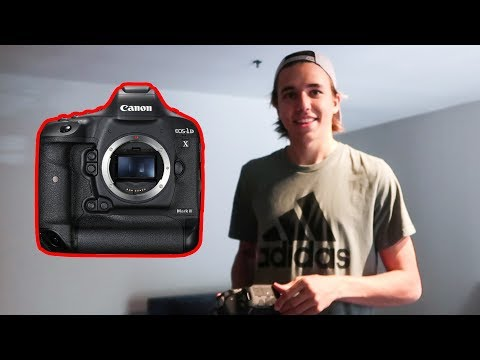 Surprising My Filmer With A $6500 Camera!