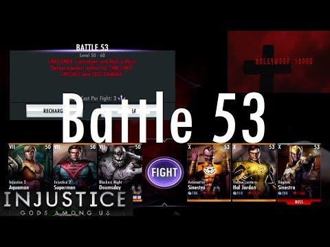 Injustice Gods Among Us iOS - Battle 53