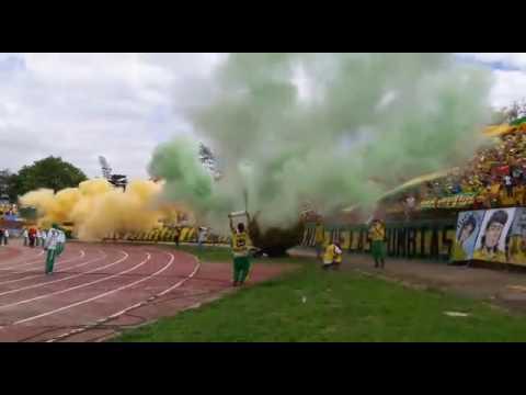 Himno de santander + tapatribuna, 14-AGO-2016, FORTALEZA LEOPARDA SUR 2016 - Fortaleza Leoparda Sur - Atlético Bucaramanga