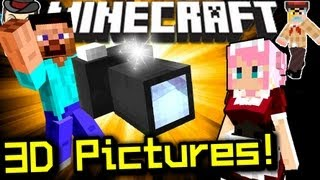 Minecraft VIRTUAL CAMERA! Photoreal Pictures - Mod Showcase!