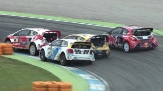 Amazing FIA WORLD RALLYCROSS RX at DTM Hockenheim 2015 - BEST ACTION & RACING