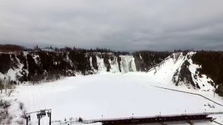 Boischatel (QC) Canada  City pictures : DRONE PHOTOGRAPHY - Montmorency Falls Quebec - Winter - DJI Phantom