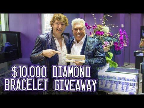 $10,000 Diamond Bracelet Giveaway!