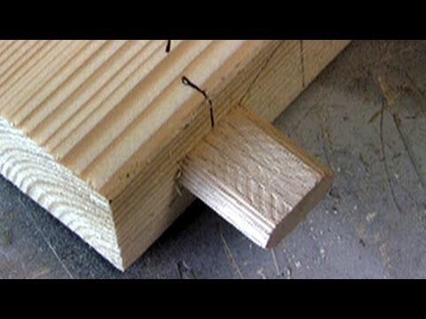 Festool Domino - making a simple framework
