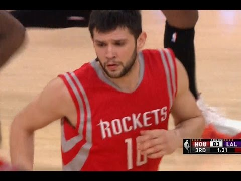 Kostas Papanikolaou first NBA basket in the regular season