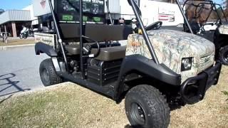 7. Kawasaki Mule Trans 4x4 Camo